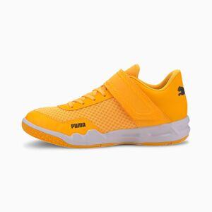 Puma Rise XT Eh 4 Youth Football Boots,  Orange Alert/Black/White, size 5.5, Shoes