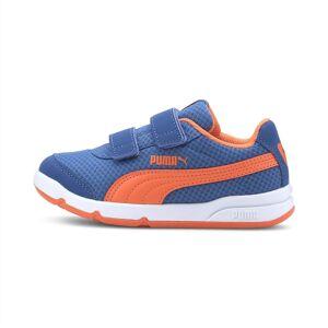 Puma Stepfleex 2 Mesh Ve V Kids' Trainers, Firecracker Orange, size 1.5, Shoes