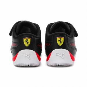 Puma Ferrari Drift Cat 7S Ultra Kids' Trainers, Red, size 1.5, Shoes