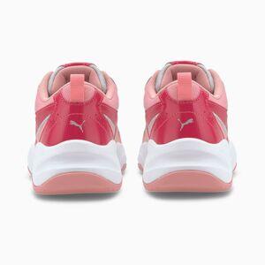 Puma Cilia Cheetah Youth Girls' Trainers, Grey, size 5.5, Shoes