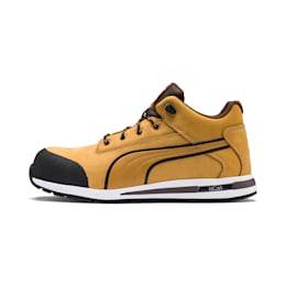 Puma Men's PUMA Safety Shoes Dash Wheat Mid, size 7, Shoes