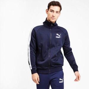 Puma Iconic T7 Men's Track Jacket, Peacoat, size Small, Clothing