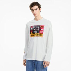 Puma x Helly Hansen Long Sleeve Men's T-Shirt, White, size Medium, Clothing