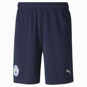 Puma Man City Replica Men's Football Shorts, Peacoat/Whisper White, size Medium, Clothing