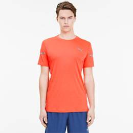 Puma Runner Id Thermo R+ Men's T-Shirt, Lava Blast, size 2X Large, Clothing