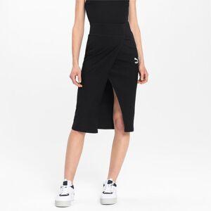 Puma Empower Midi Saron Women's Skirt, Black, size X Large, Clothing