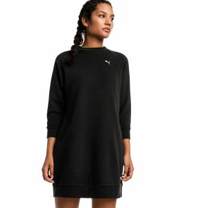 Puma Athletics Women's Sweat Dress, Black, size Large, Clothing