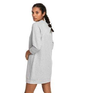 Puma Athletics Women's Sweat Dress, Light Grey Heather, size X Large, Clothing