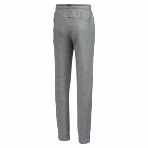 Puma Essentials Boys' Sweatpants, Medium Grey Heather, size 7-8 Youth, Clothing