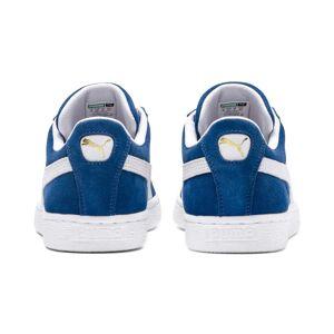 Puma Men's PUMA Suede Classic+ Trainers, Olympian Blue/White, size 5, Shoes