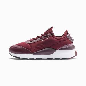 Puma RS-0 Frosted Women's Trainers, Fig/Silver/White, size 5.5, Shoes