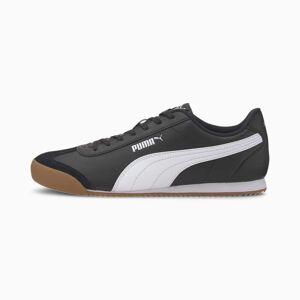 Puma Men's PUMA Turino Trainers,  Black/White/Gum, size 4.5, Shoes