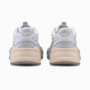 Puma Rs-X Gradient Women's Trainers, White/Rosewater, size 6, Shoes