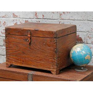 Scaramanga Wooden Storage Chest  Medium