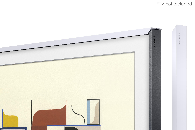"""Samsung Customisable White Bezel For 55"""" Frame TV (VG-SCFM55WM/XC)"""