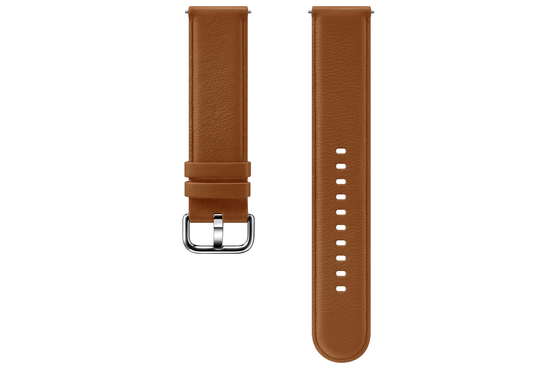 Samsung Galaxy Watch Active 2 Leather Band Brown (ET-SLR82MAEGWW)