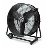 Casafan Industrial high velocity fan high performance 65 Cm 123 Watts, mounted on rollers and cage.
