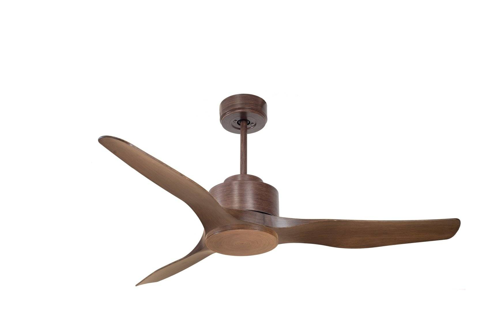 KlassFan Modulo by KlassFan - DC Ceiling Fan without Light Wood color ideal for 25 to 40 m² KL_DC2_P4Wo
