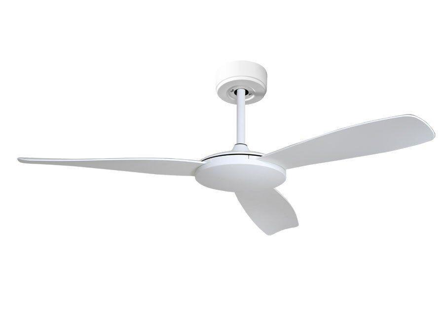 KlassFan's Fresco - a DC ceiling fan, ultra silent, with thermostat