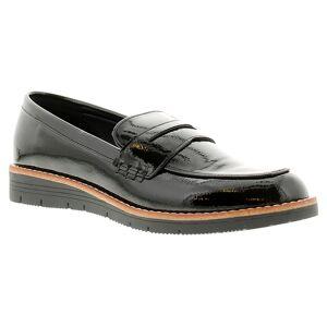 Apache Aliya Ladies Black Low Wedge Flat Shoes, Size: 4  - Black - Size: 4