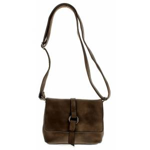 Wynsors Bea Ladies Brown Fashion Crossbody Bag  - Brown - Size: 1