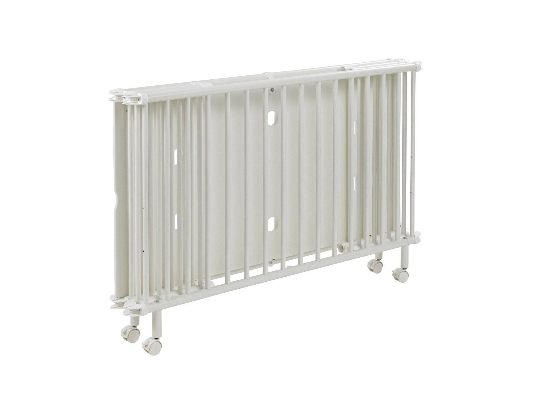 Geuther Mayla foldable child's bed; Weiß