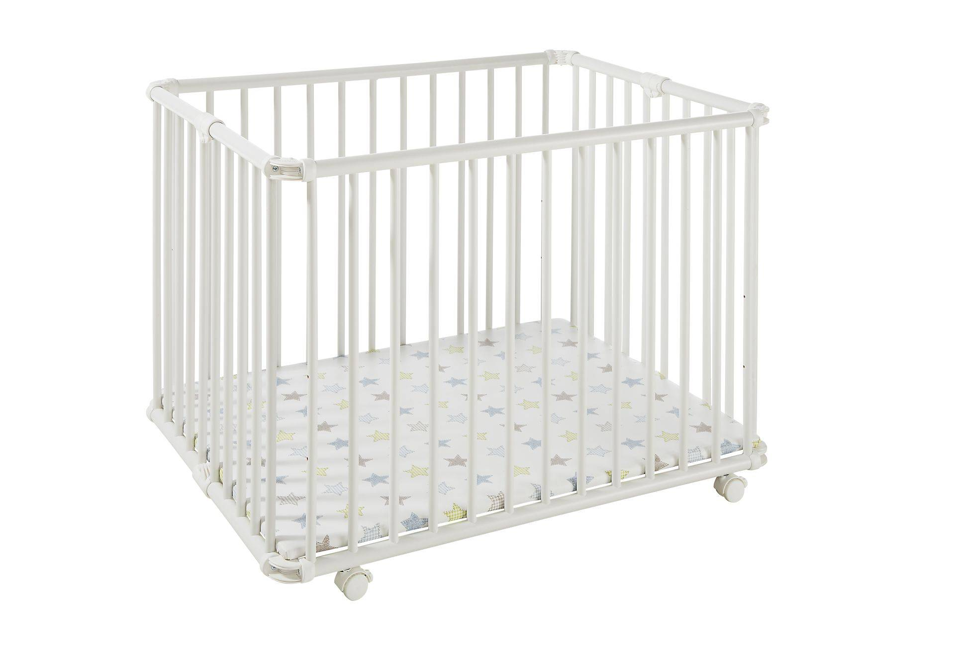 Geuther Lucilee playpen; Weiß