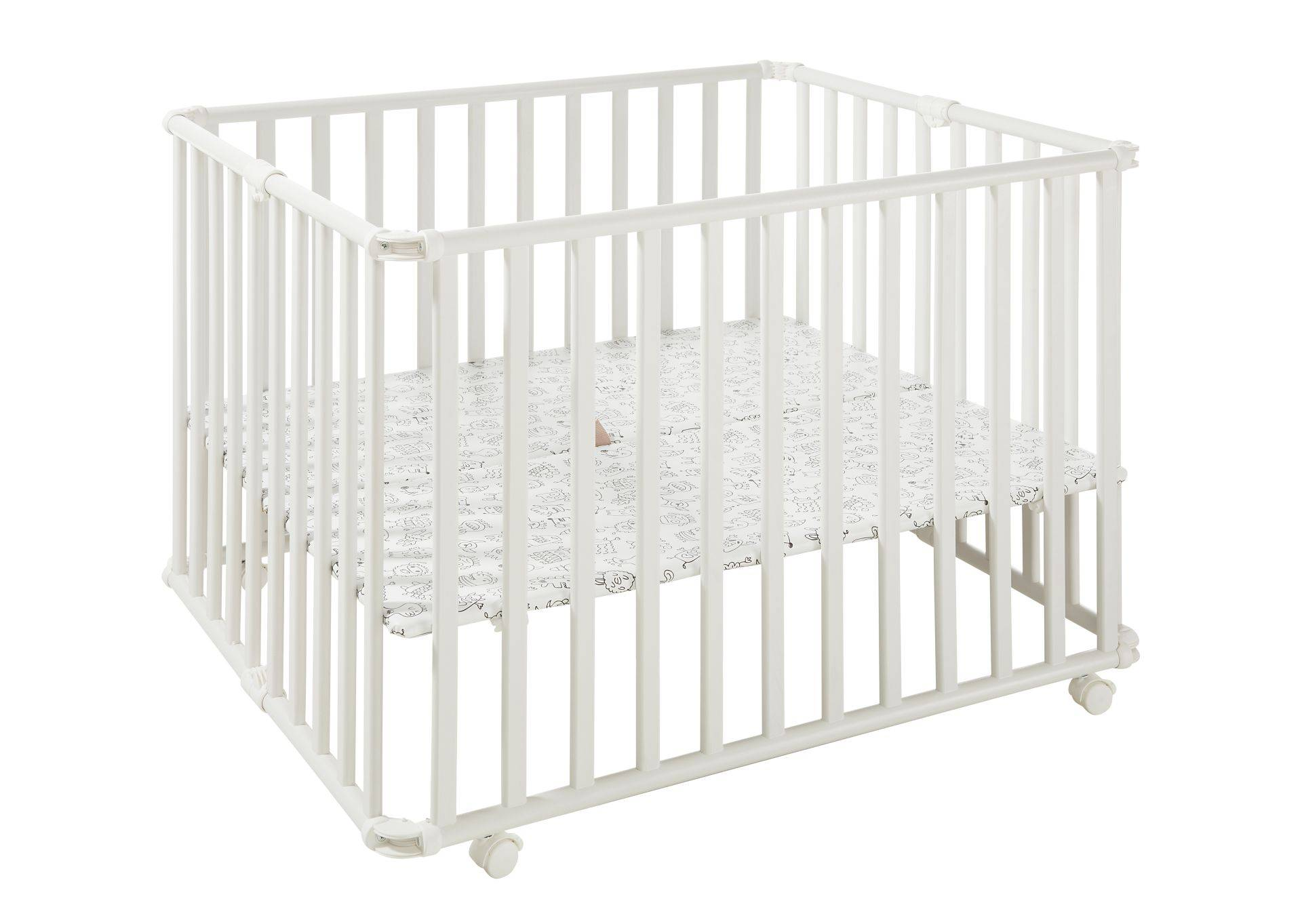 Geuther Ameli playpen; Weiß