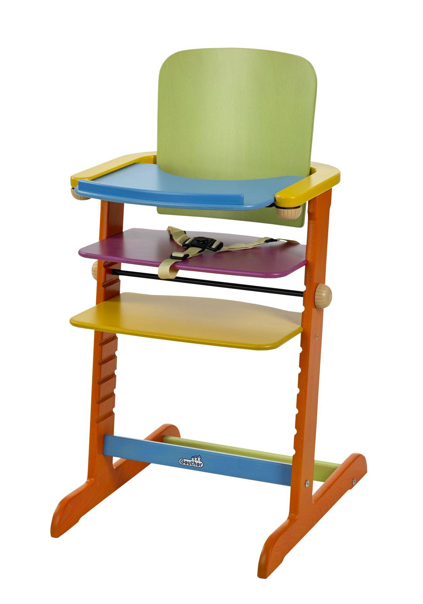 Geuther Family highchair; Bunt
