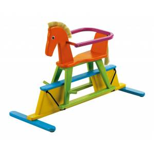 Geuther Swingly Star rocking horse; Bunt