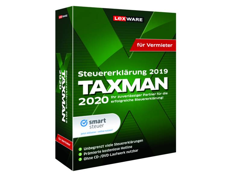 Lexware Taxman 2020 for landlords Download
