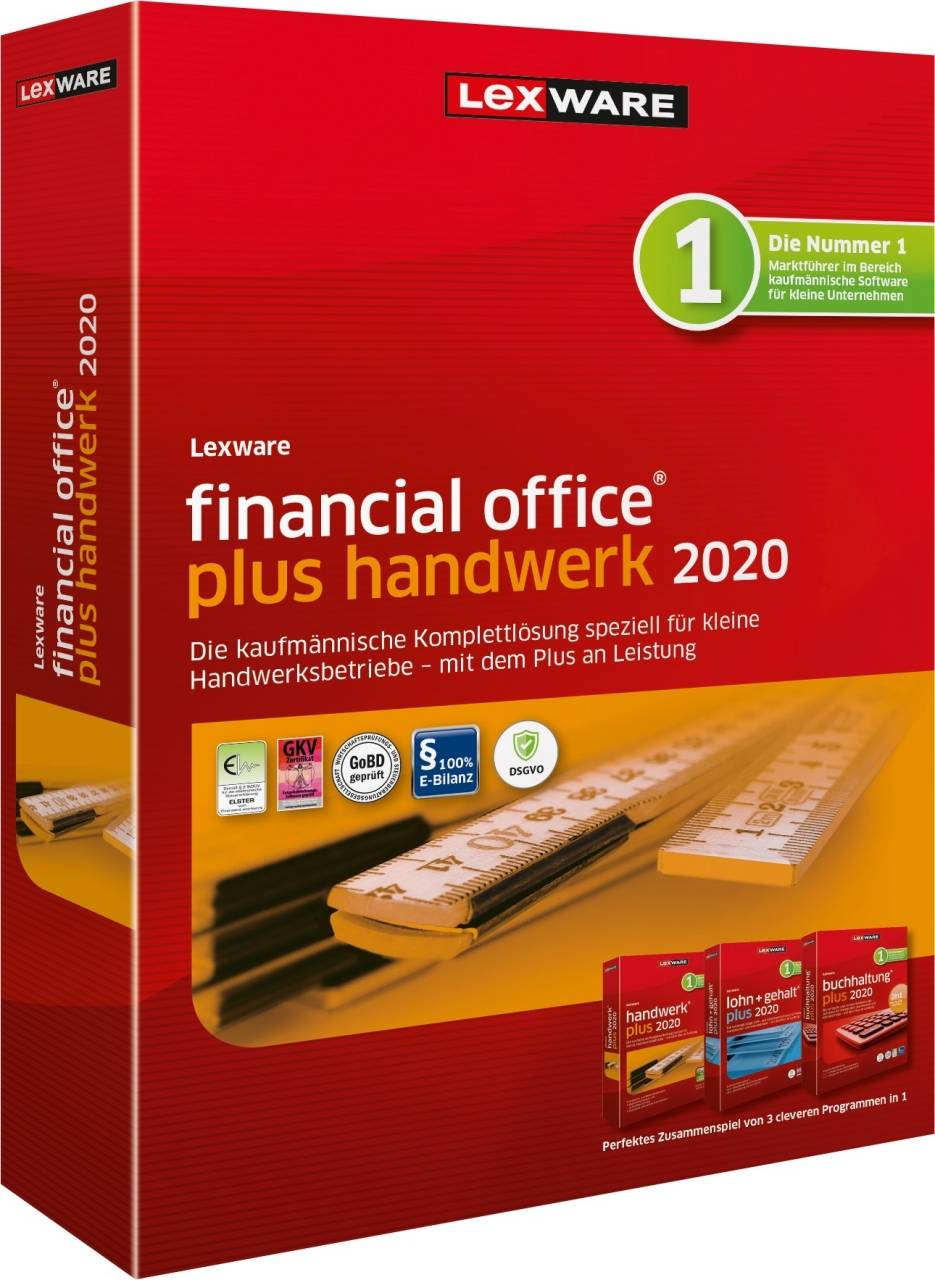 Lexware Financial Office Plus Handicraft 2020 365 days runtime download
