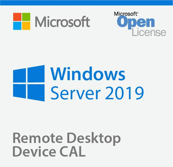 Microsoft Windows Remote Desktop Services 2019 Device CAL RDS CAL Client Access License 1 CAL