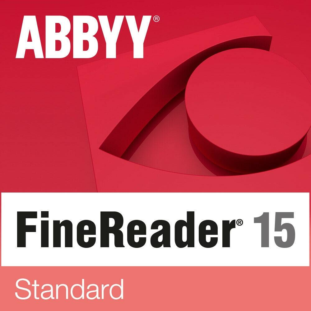 Abbyy FineReader 15 Standard 1 User WIN Full Version Download