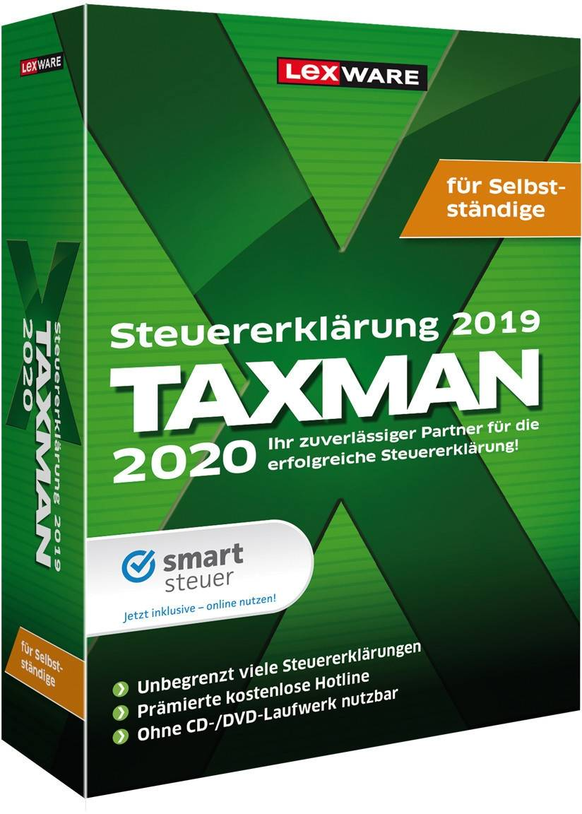 Lexware Taxman 2020 for self-employed Download
