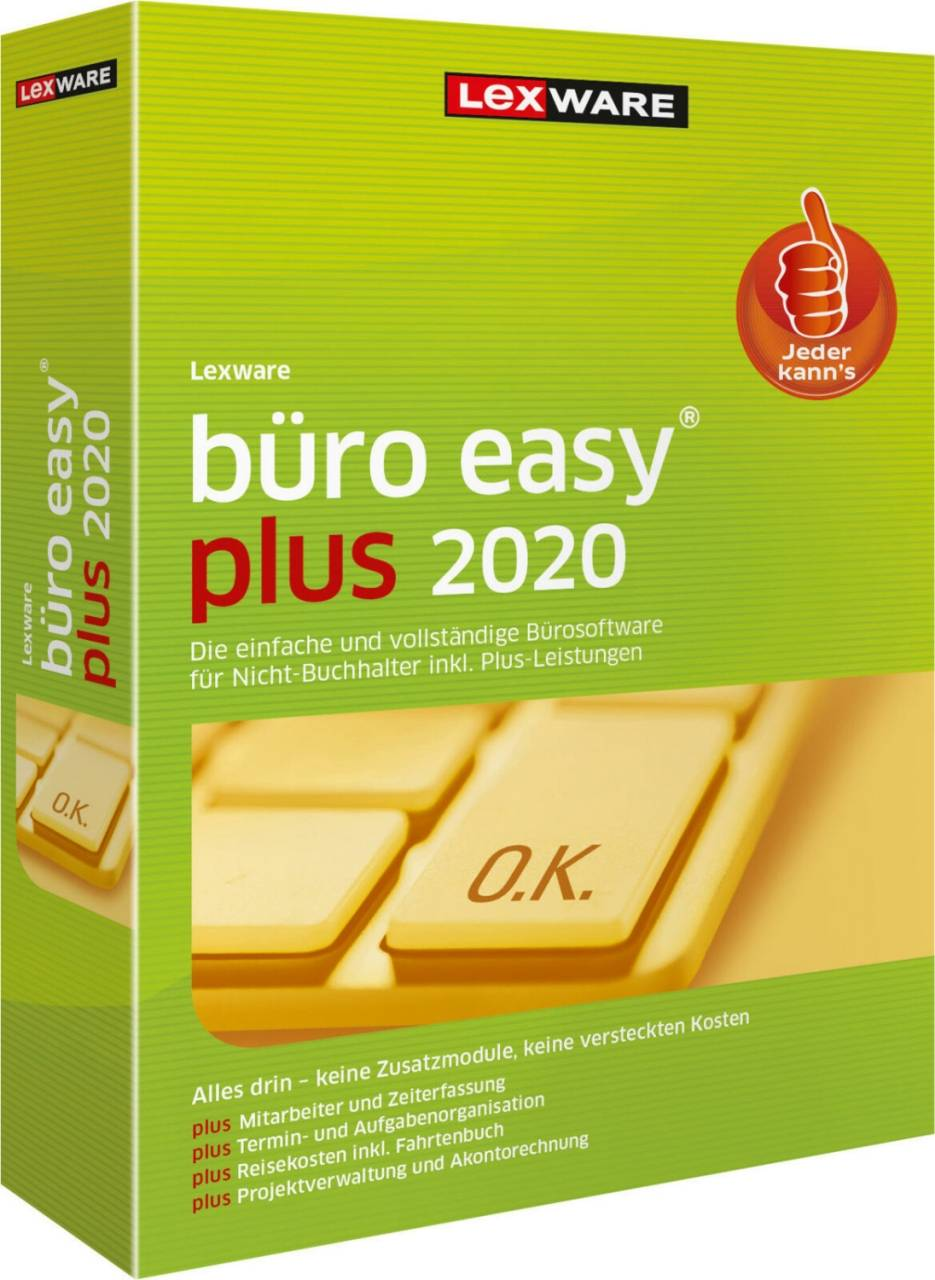 Lexware büro easy Plus 2020 365 days runtime download
