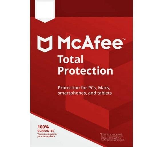 McAfee Total Protection 2020 Full version 3 Devices 2 Years