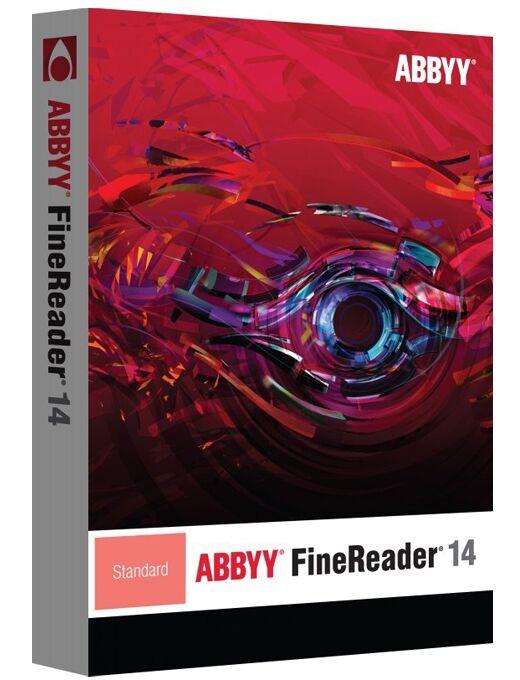 Abbyy FineReader 14 Standard 1 User WIN Full Version Download