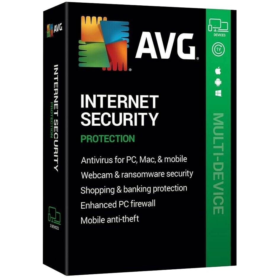 AVG Internet Security 2020 Full Version Download 10 Devices 2 Years