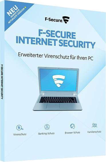 F-Secure Internet Security 2020 full version 5 Devices 1 Year