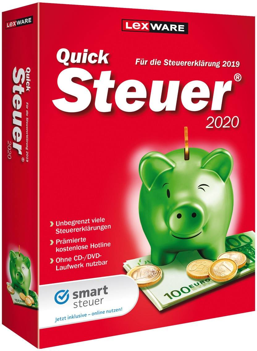 Lexware QuickSteuer 2020 for the tax return 2019 download
