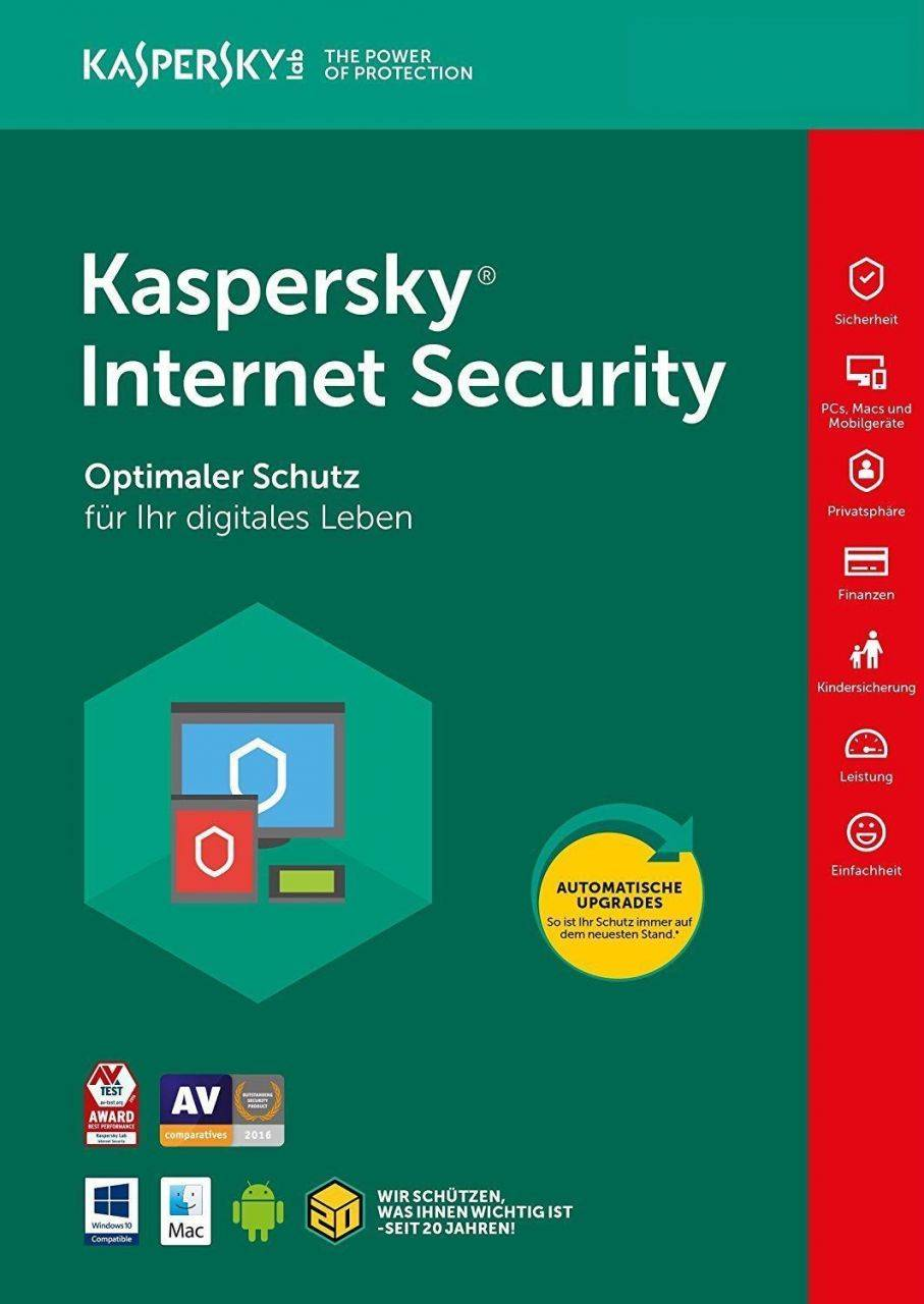 Kaspersky Internet Security 2020 Multi Device PC MAC Smartphone Tablet 5 Devices 1 Year