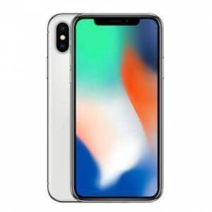 Refurbished-Stallone-iPhone X 256 GB   Silver Unlocked