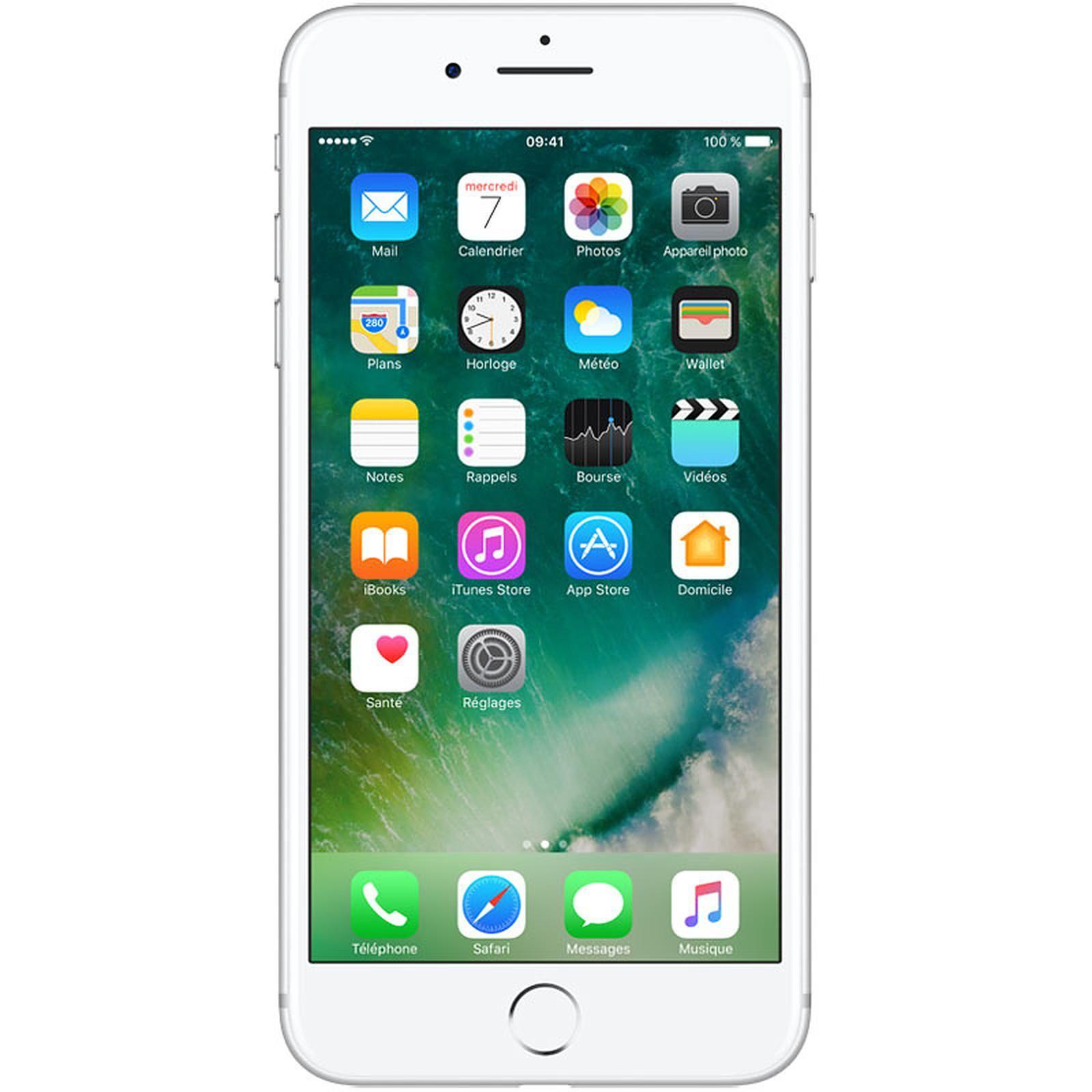 iPhone 7 Plus 128 GB   Silver Unlocked | Refurbished - 12 M. Warranty