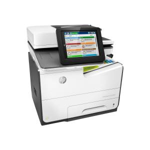 Refurbished-Good-Thermal Inkjet Multifunction Printer HP PageWide Managed Color MFP E58650dn