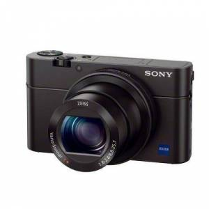 Refurbished-Very good-Compact Sony CyberShot DSC-RX100M3  Black