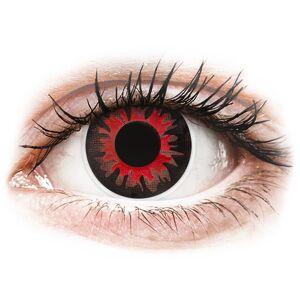 Red Volturi contact lenses - ColourVue Crazy