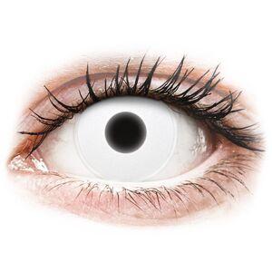 White Glow contact lenses - ColourVue Crazy