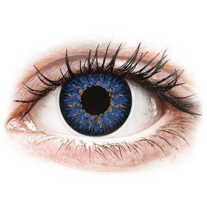 Blue Glamour contact lenses - power - ColourVue