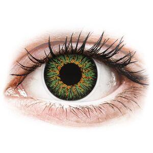 Green Glamour contact lenses - ColourVue